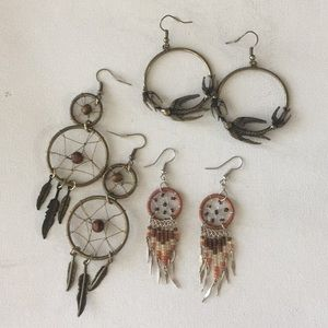 Jewelry - Bohemian Earring Set